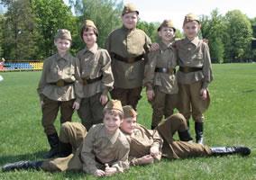 Костюмы солдат для спектакля «Чтобы помнили»
