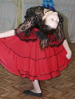Костюм для испанского танца