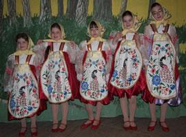 Костюмы для танца «Матрешки»