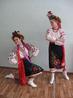 Украинские танцевальные костюмы, старшая группа