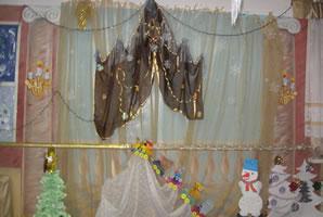 Декорации к празднику «Новый год», 2010 г.