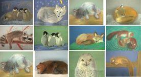C 19.11. по 20.11.16 в студии проходила художественная выставка «Нега зверей»