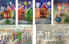 C 20 по 31.12 .16 в студии проходила художественная выставка «Новый год приходит в город»