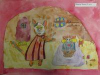 выставка художественных работ, посвященная 130-летию С.Я.Маршака