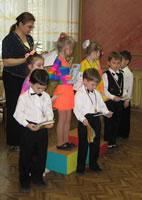 Конкурс бального танца в «Светлячке». Младшая группа.