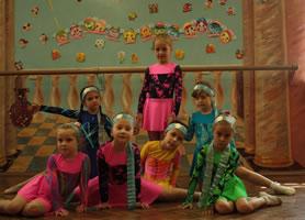 Учащиеся танцевального коллектива «Щедрик».