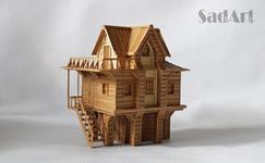 Пример бамбуковой миниатюры