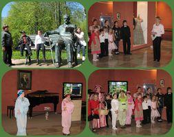 Выступление «Светлячка» 15 мая 2011 года в Доме-музее П.И.Чайковского в Клину с программой, посвященной 170-летию со дня его рождения.