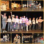 Театральная труппа «Волшебные краски» выступает в театре «Наш дом»