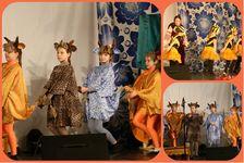 «Щедрик» принял участие в пасхальном спектакле воскресной школы Косьмы и Дамиана