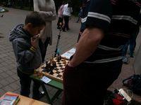 Группа «Шахматы» студии «Светлячок» в парке им. Л.Н. Толстого в День защиты детей
