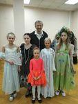 Ансамбль «Щедрик» принял участие в литературно-музыкально- хореографическом вечере «Пока горит свеча...»