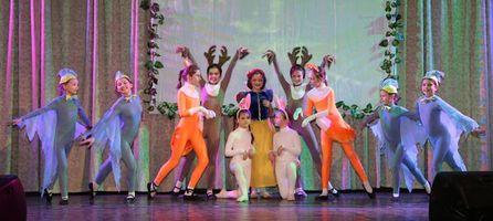Танцевальный коллектив «Щедрик». Сцена «В лесу» из балета А.И. Хачатуряна «Белоснежка и семь гномов»