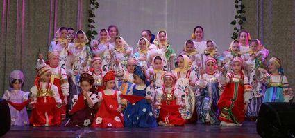 Танец «Красный сарафан». Группы «Родничок» и «Щедрик»