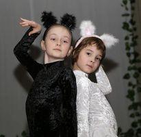 Ансамбль «Щедрик». Танец «Черная и белая кошечки» из балета «Спящая красавица» П.И. Чайковского